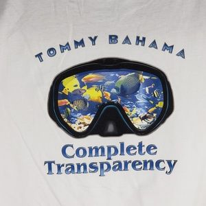 Tommy Bahama Mens Graphic T-Shirt Transparency Tee